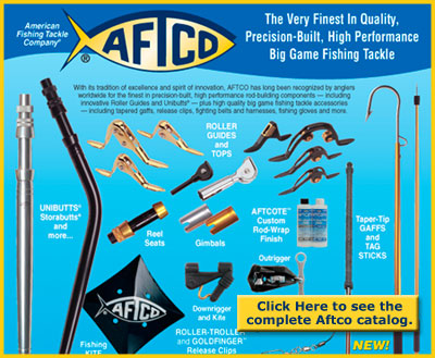 Aftco fishing components