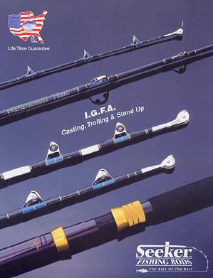 Seeker fishing rods for Seeker fishing rods